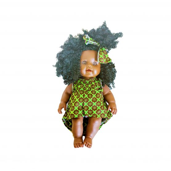 Ima Doll Dress Green